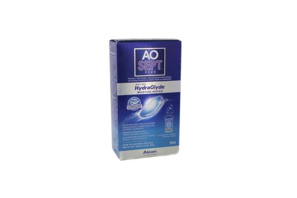 Alcon AOSEPT PLUS mit HydraGlyde 1x 90ml - Pflegemittel