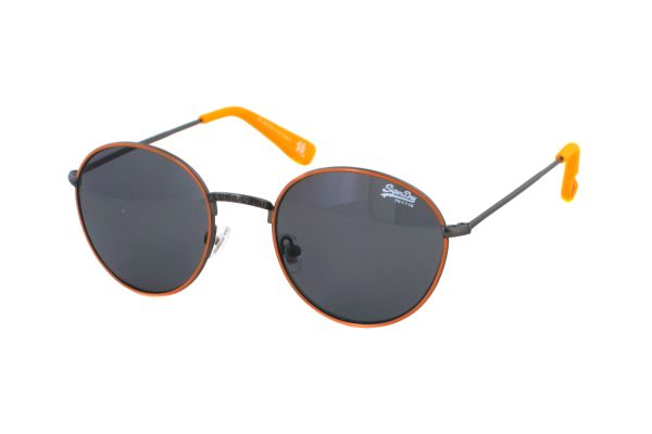 Superdry SDS Enso 050 Sonnenbrille in grau/neon orange - megabrille