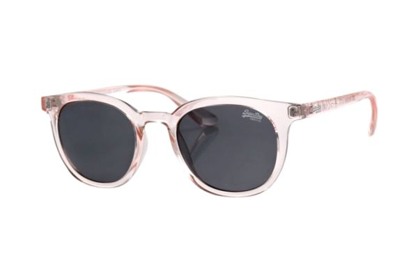 Superdry SDS Hensley 172 Sonnenbrille in transparent/rose´ - megabrille