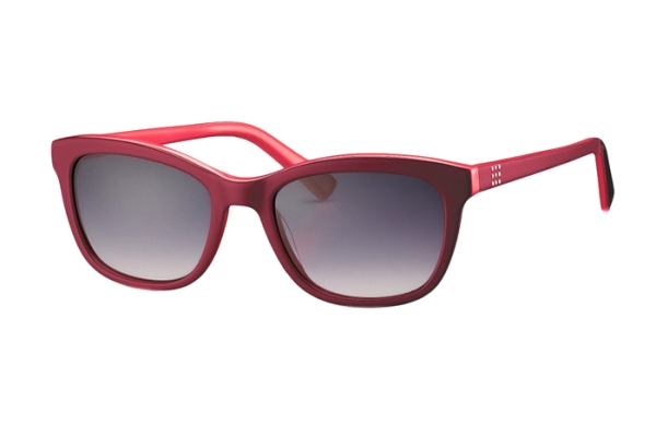 OCEANBLUE 825142 50 Sonnenbrille in in rot - megabrille