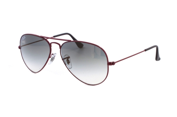 Ray-Ban Aviator Large Metal RB 3025 090/32  Sonnenbrille in pink - megabrille