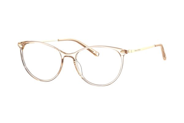 Marc O'Polo 503145 60 Brille in hellbraun transparent/gold - megabrille