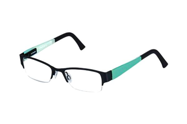 eye:max 5754 0001 Brille in black tie matt - megabrille