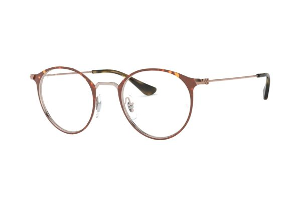 Ray-Ban RX6378 2971 Brille in copper on top havana - megabrille