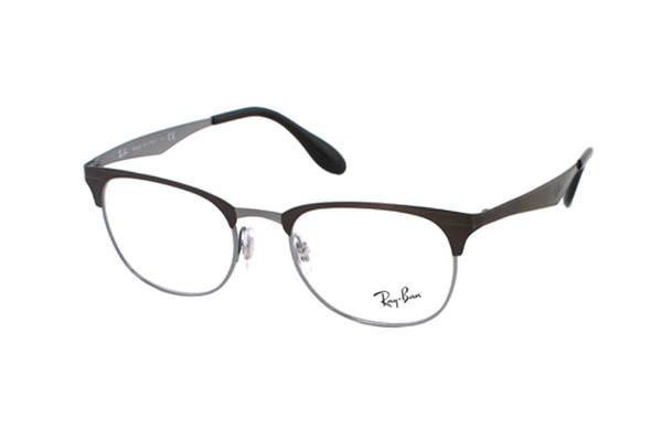 Ray-Ban RX 6346 2862 Brille in braun/silber - megabrille