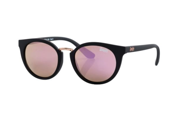 Superdry SDS Girlfriend 104 Sonnenbrille in schwarz matt - megabrille