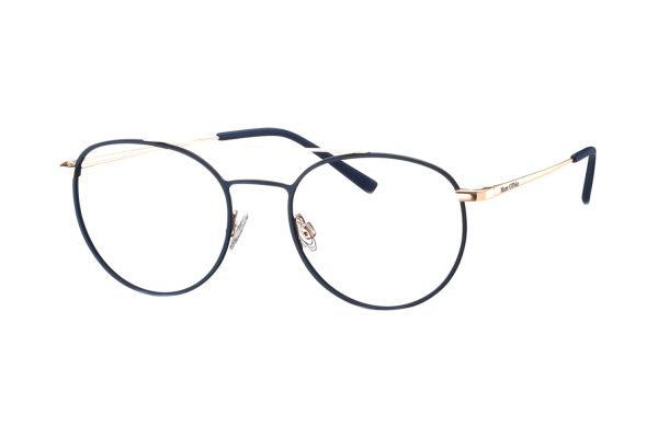 Marc O'Polo 502140 70 Brille in navy matt/roségold - megabrille