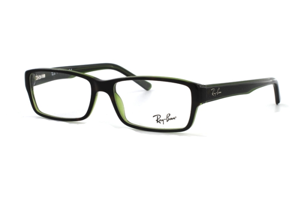 Ray-Ban RX5169 2383 Brille in grün/transparent - megabrille