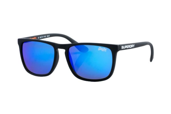 Superdry SDS Shockwave 187 Sonnenbrille in schwarz matt - megabrille